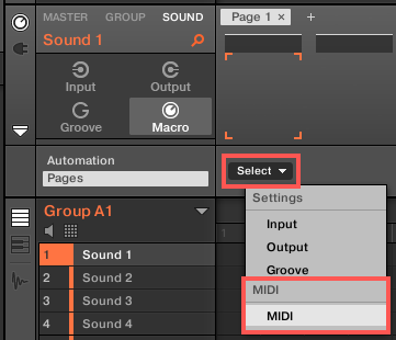 How to Send MIDI CCs from MASCHINE 2 to External MIDI
