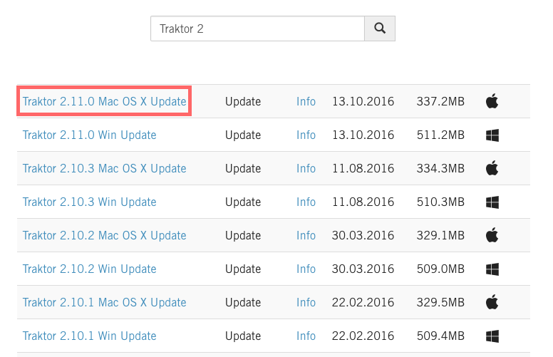 How to Download and Install a TRAKTOR Software Update