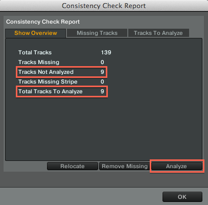 The Playback Skips while Analyzing Tracks in TRAKTOR