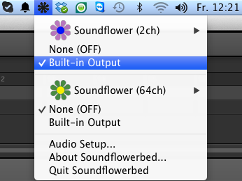 soundflower pour mac