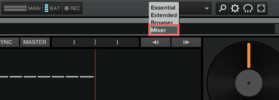 Mixer Layout