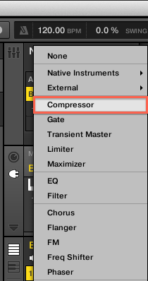Setting Up MASCHINE 2 for Internal Side-Chaining – Native