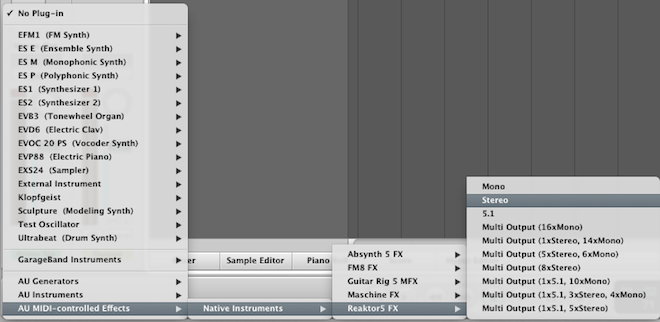 How to Set Up a MIDI Controlled Effect in Logic Pro 9