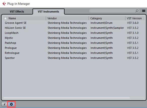 cubase audio files folder