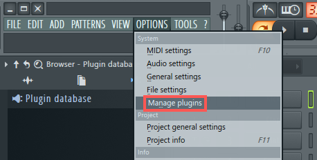 Plug-in Administration in FL Studio 12 – Native Instruments