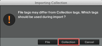 Importing Collection