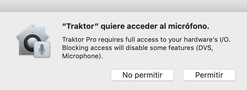 Ventana de diálogo de macOS 10 14 (Mojave):