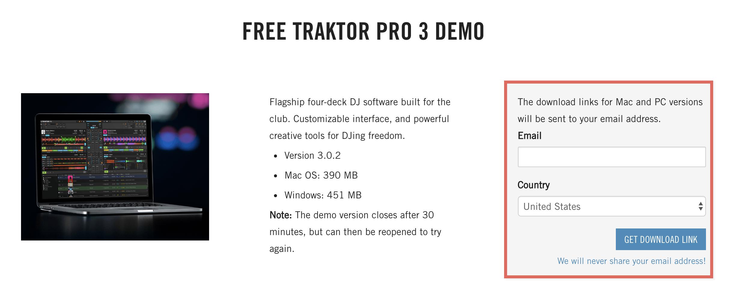 traktor scratch pro 2 software download mac