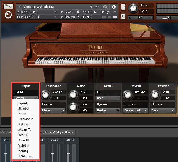 My KONTAKT Piano Instrument Sounds Out of Tune – Native