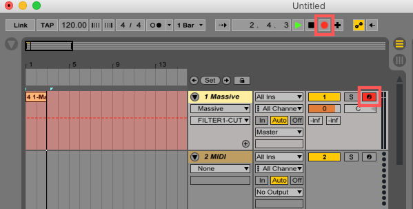 How to Record Automations in Ableton Live 9 (and higher